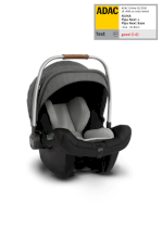 Scoica auto pentru copii Nuna I-Size Pipa Next Grupa 0+, 0-13 kg, nastere - 83 cm Caviar