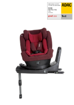 Scaun auto pentru copii Nuna REBL PLUS 360° i-Size Grupa 0-1, 0-18 kg, nastere - 105 cm Berry