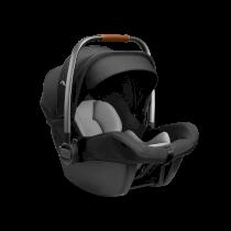 Scoica auto pentru copii Nuna Pipa Lite Grupa 0+, 0-13 kg + baza isofix Caviar