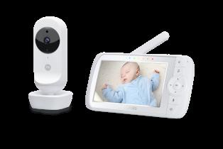 Baby monitor Motorola EASE35 portabil cu ecran de 5 inch