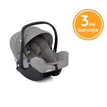 Scoica auto pentru copii Joie I-SNUG Grupa 0, 0-13 kg, nastere - 75 cm Gray Flannel