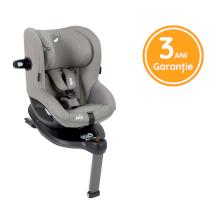 Scaun auto pentru copii Joie I-Spin 360° E 61 Cm - 105 Cm cu rotire usoara Gray Flannel