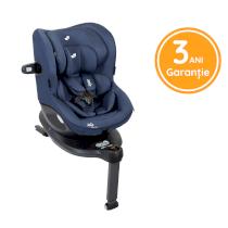 Scaun auto pentru copii Joie I-Spin 360°, Nastere-105 Cm, cu rotire usoara Deep Sea