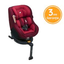 Scaun auto pentru copii Joie Spin 360°, 0-18 kg, rotativ cu Isofix Merlot