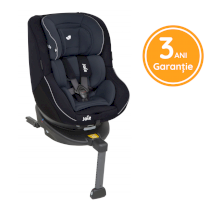 Scaun auto pentru copii Joie Spin 360°, 0-18 kg rotativ cu Isofix Navy Blazer