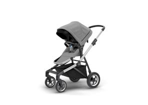 Carucior pentru copii Thule Sleek sport flexibil Aluminum/Grey Melange