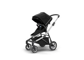 Carucior pentru copii Thule Sleek sport flexibil Aluminum/Midnight Black