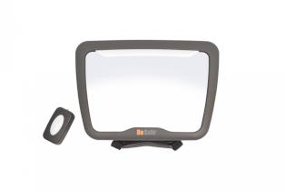 Oglinda de masina BeSafe pentru supravegherea copiilor XL² cu lumina Led